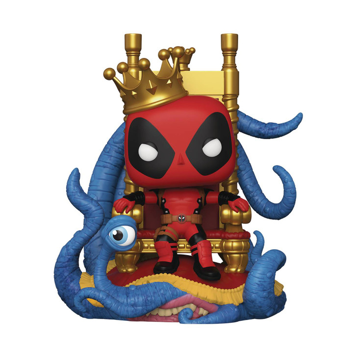 Funko Pop! Marvel Heroes Deadpool on Throne 6in PX