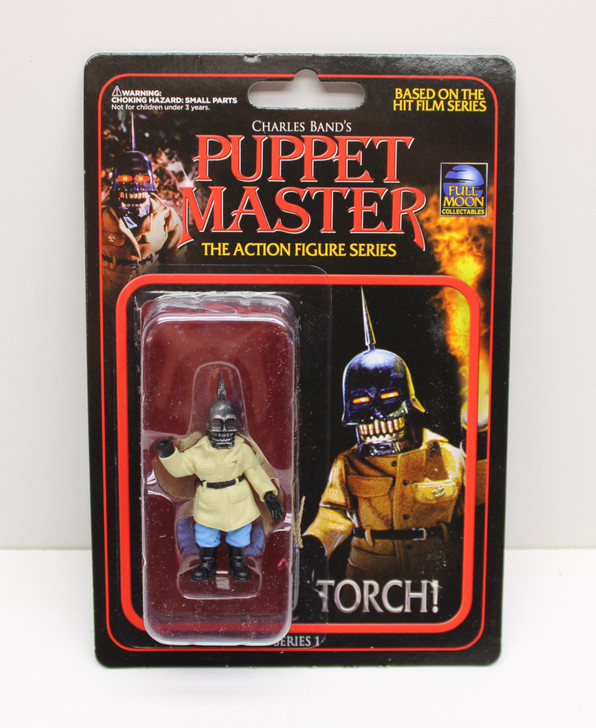 "Full Moon Toys Puppet Master Torch 3"" Action Figure"