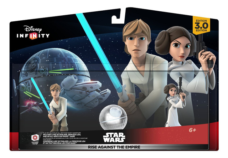 Disney Infinity 3.0 Edition: Star Wars Rise Against the Empire Luke and Leia Figure Set