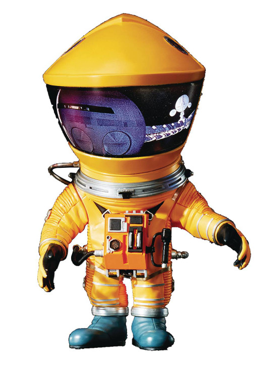 Star Ace 2001 A SPACE ODYSSEY Yellow Astronaut Defo-Real