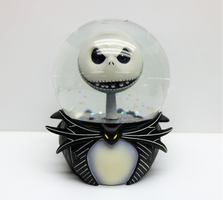 """Disney Store (2003) NBX Jack """"two faced"""" Snowglobe (no package)"""