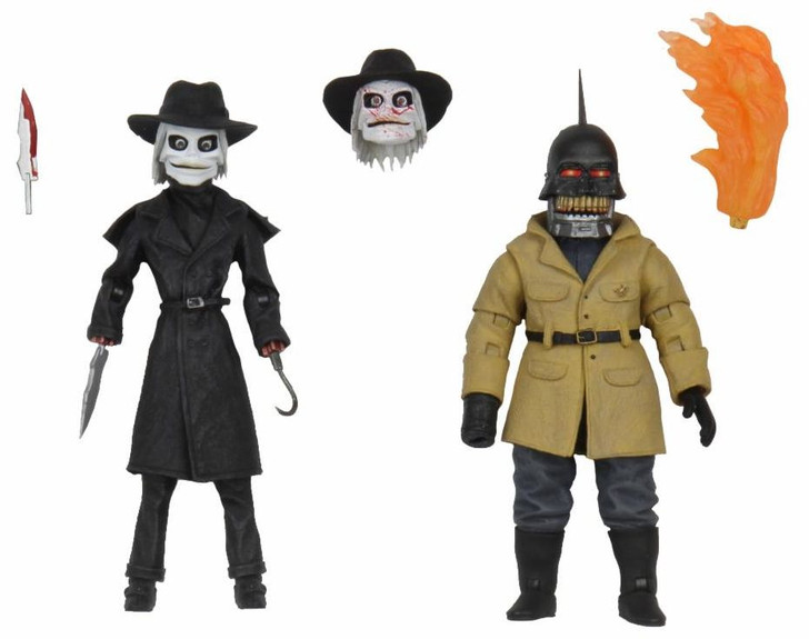 "NECA Puppet Master - 7"" Scale Action Figure - Ultimate Blade & Torch 2-Pack"