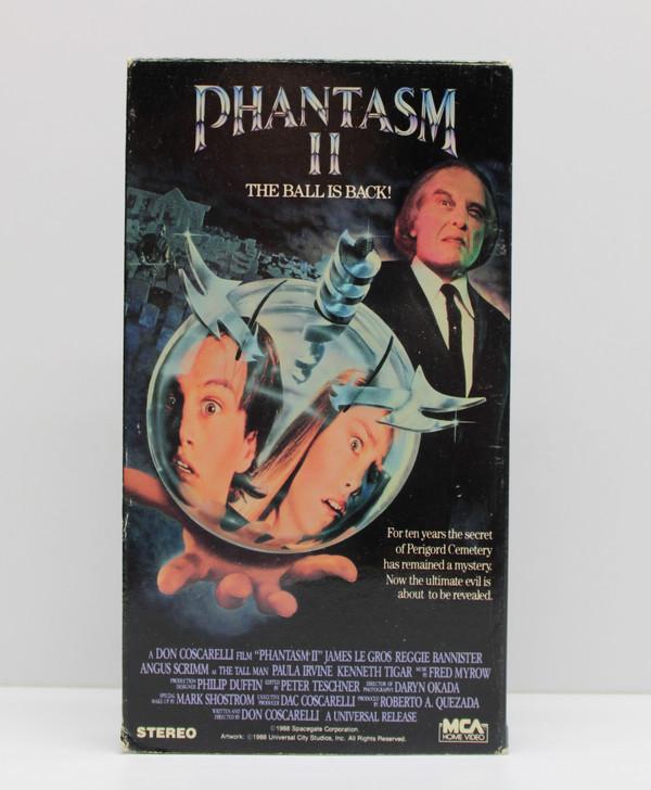PHANTASM II (Angus Scrimm) Vintage VCR Video Cassette Tape