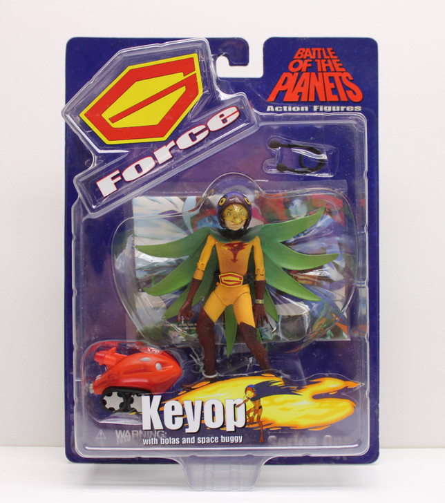 Diamond Select Battle of the Planets Keyop Action Figure
