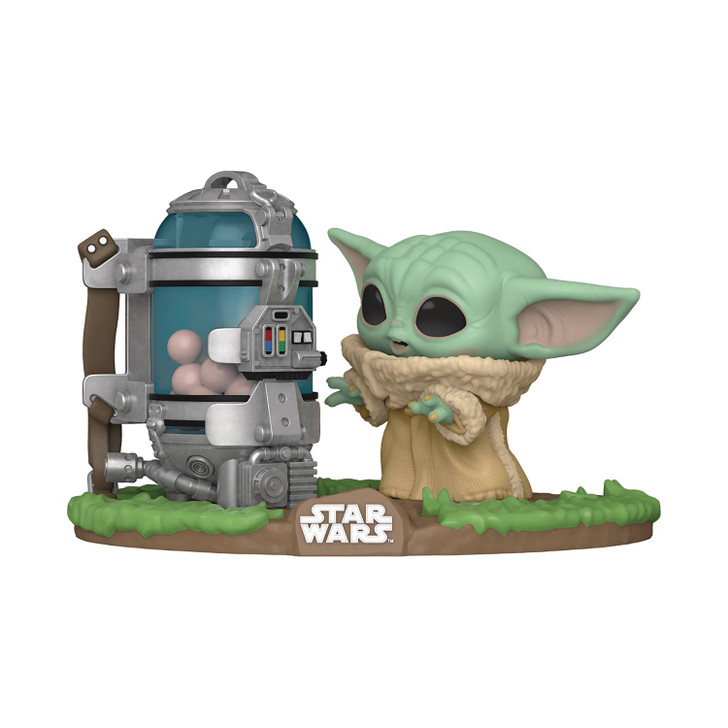 Funko Pop! Star Wars: POP Deluxe: Mandalorian The Child with Cannister