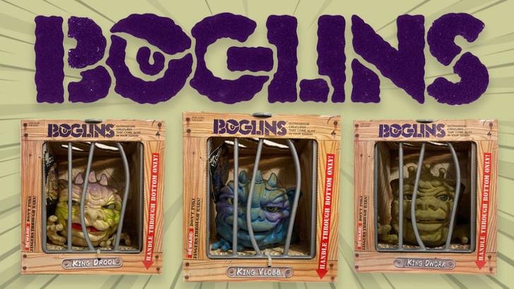 Boglins Complete set of 3 special offer