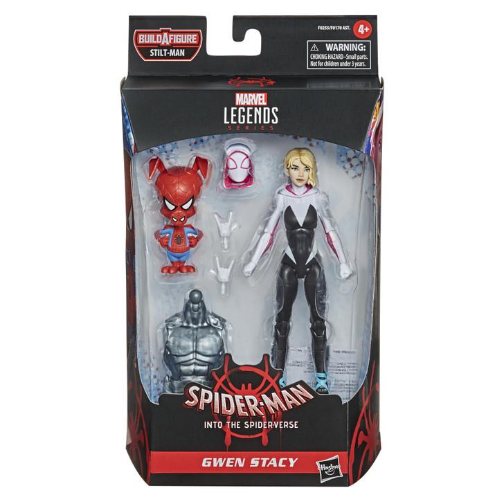 "Hasbro Spider-Man Marvel Legends  Gwen Stacy 6"" Action Figure"
