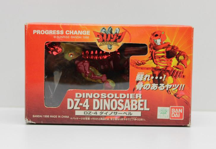 BanDai (1998) Dinozone Dinozaurs DZ-4 Dinosabel Dinosoldier