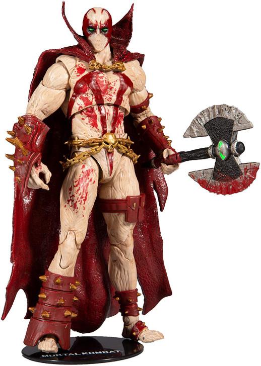 Mcfarlane Mortal Kombat Spawn Blood Feud Hunter Action Figure