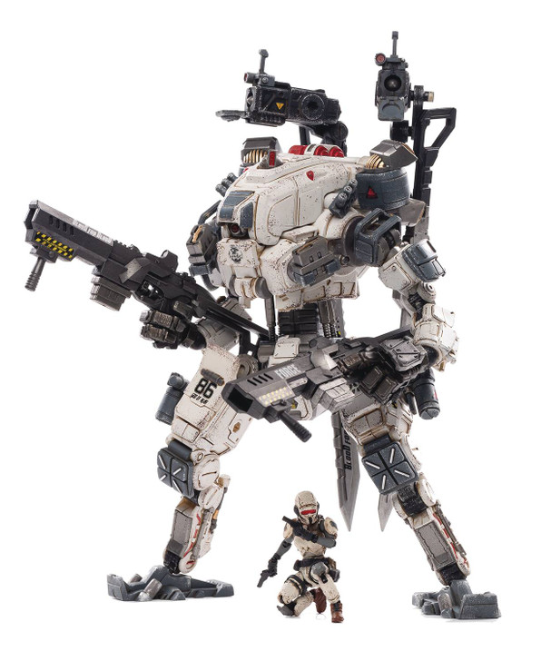 Joy Toy God of War 86 White Mecha 1/18th Scale Action Figure
