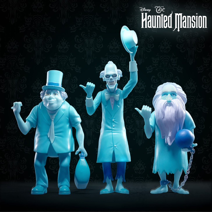 Super7 Disney's The Haunted Mansion ReAction Figure set of 3