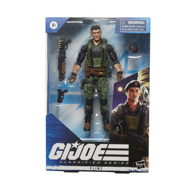 Hasbro GI Joe Classified Series Flint 6in Action Figure