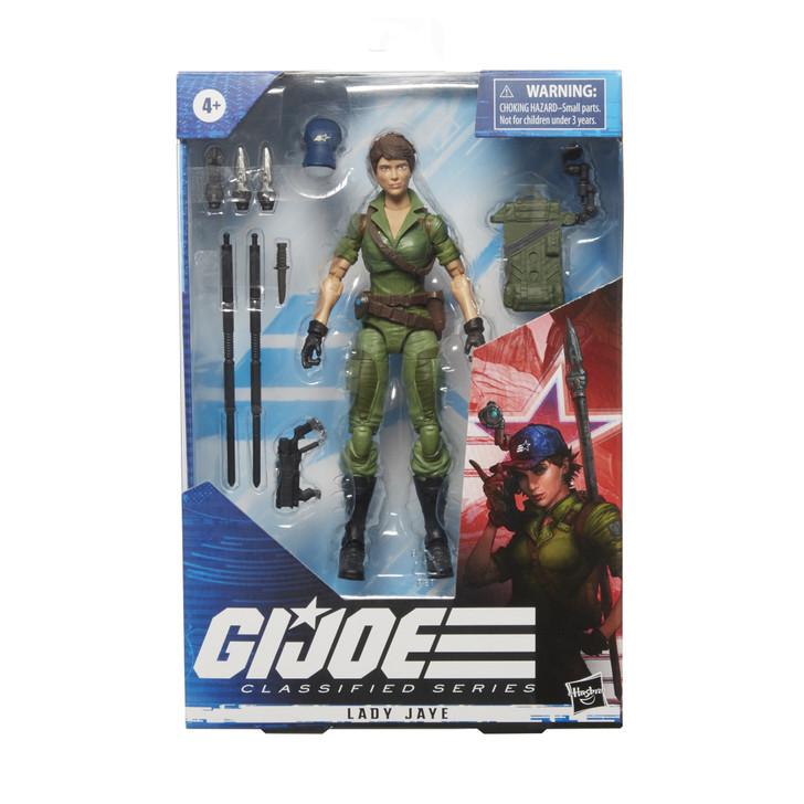 Hasbro GI Joe Classified Series Lady Jaye 6in Action Figure