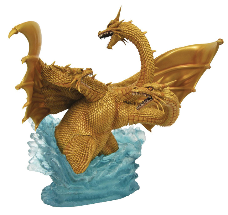 Diamond Select Godzilla Gallery 1991 King Ghidorah Deluxe PVC Figure
