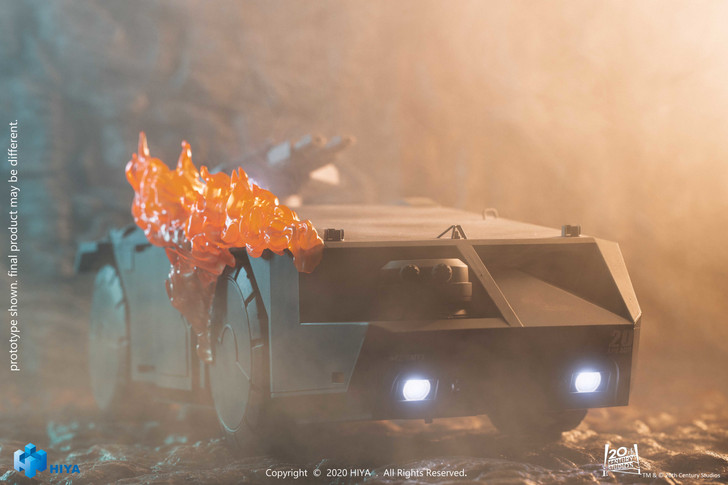 HIYA Colonial Marines ARMORED PERSONNEL CARRIER Burning version