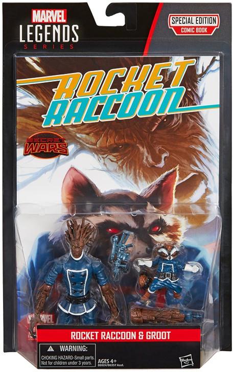 Hasbro Marvel Universe Groot and Rocket Raccoon