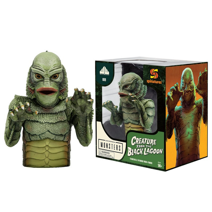 Waxwork Records Universal Monsters Creature from the Black Lagoon Spinature