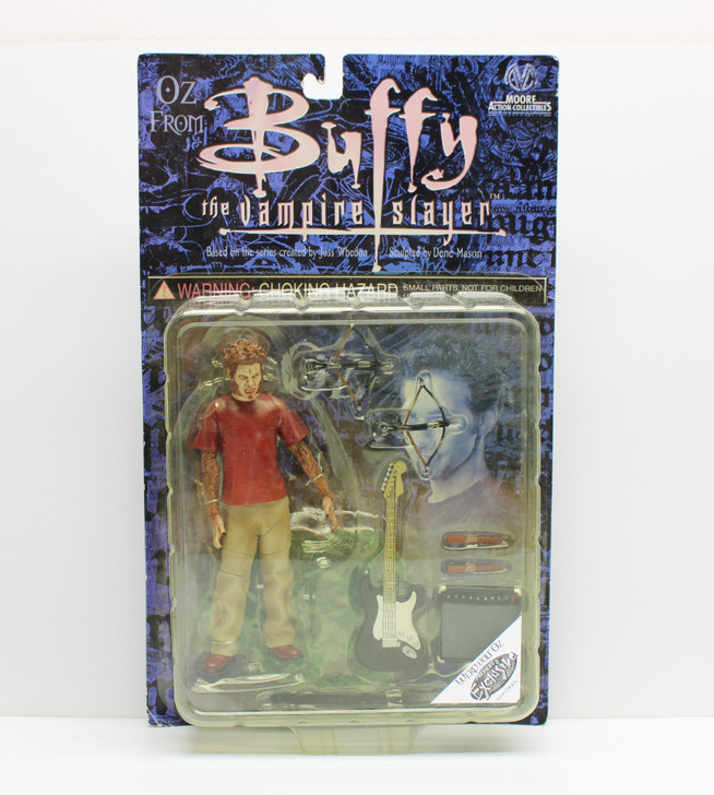 MAC Buffy the Vampire Slayer Werewolf OZ Previews Exclusive Action Figure