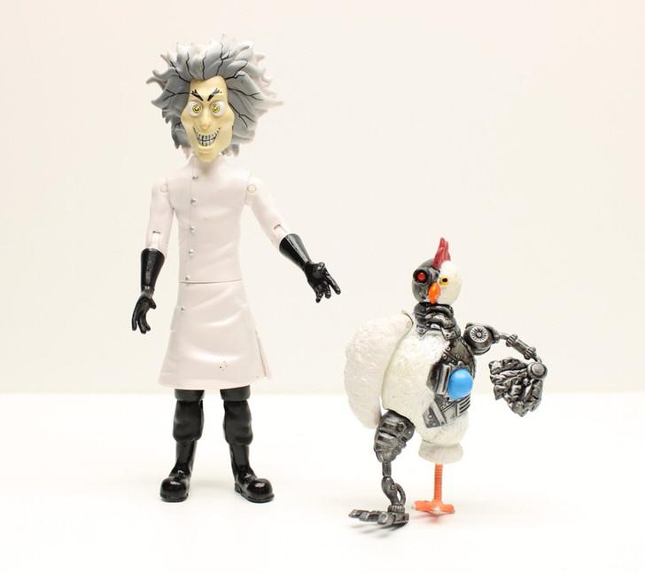 Jazwares Robot chicken Action Figure set (No package)