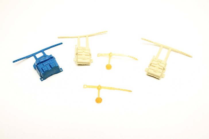 Kenner 1980 Star Wars Survival Kit Parts Lot (No package)