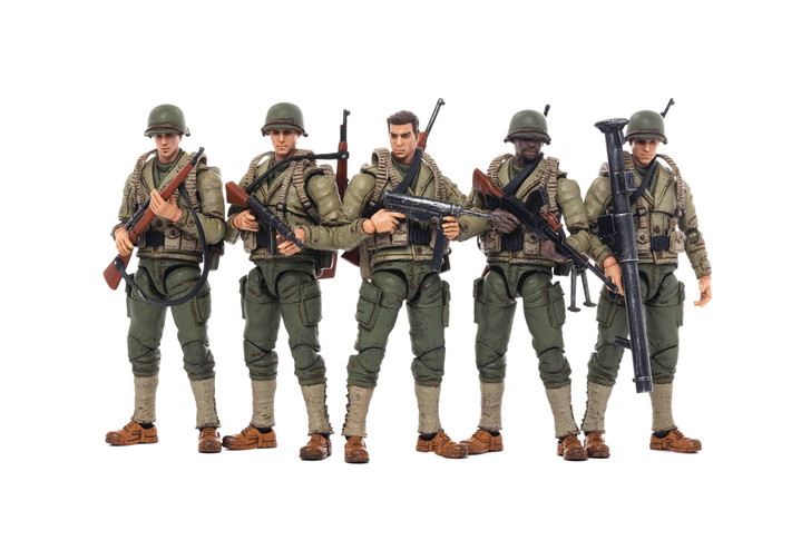 Joy Toy U.S. Army WWII  1/18 action figure 5 pack