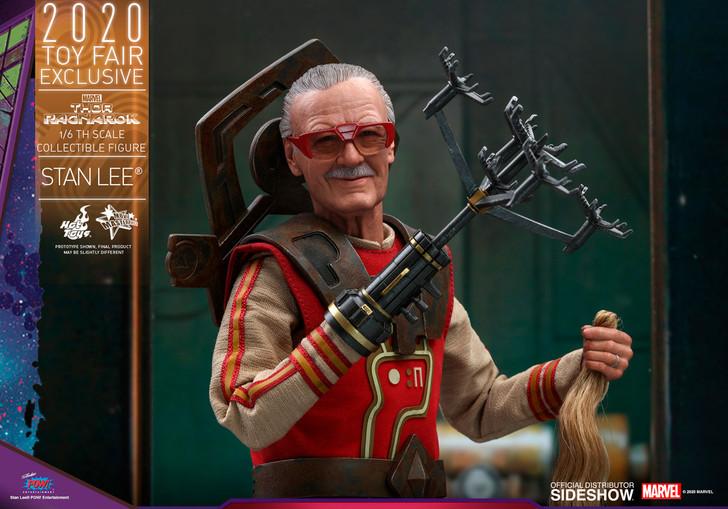 Hot Toys  Thor: Ragnarok Stan Lee Movie Masterpiece Series