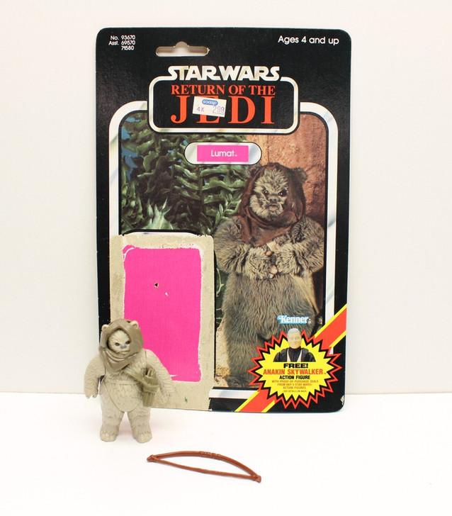 Kenner 1984 Star Wars ROTJ Lumat action figure