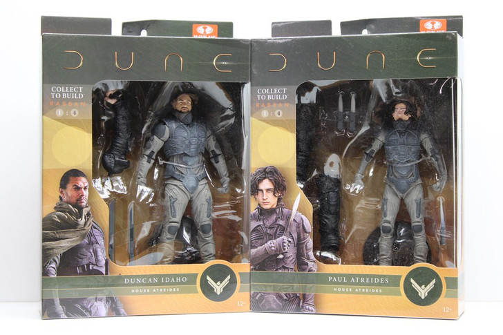 McFarlane DUNE Action Figure Set Paul and Duncan