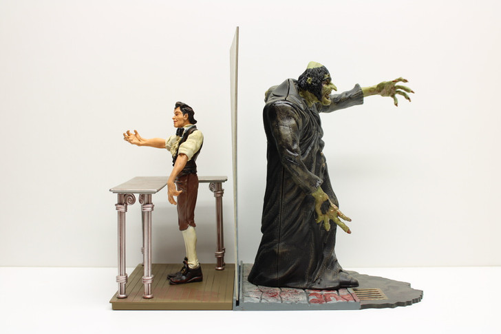 Mezco Reel Monsters Dr. Jekyll and Mr. Hyde Set (No package)
