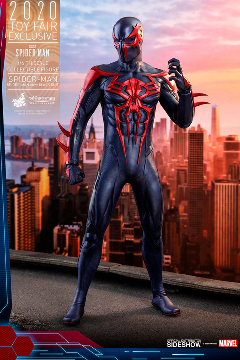 Hot Toys Spider-Man 2099 Black Suit Video Game Masterpiece Series