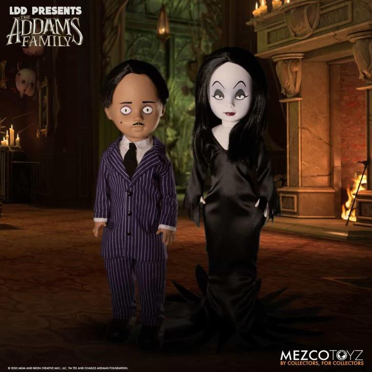Mezco The Addams Family: LDD Gomez and Mortica