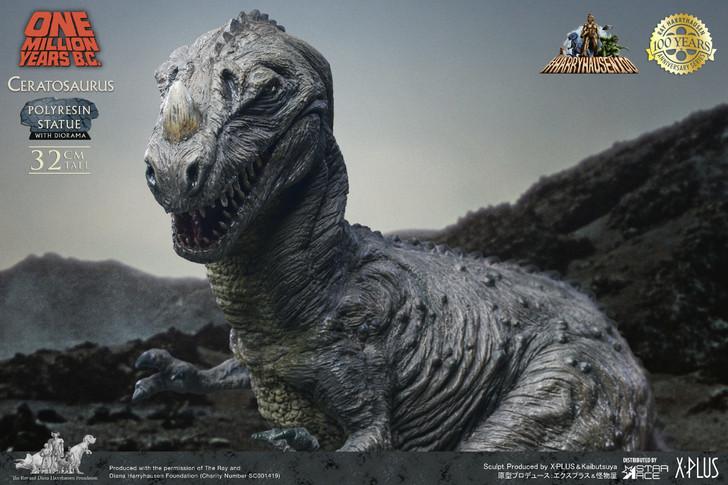 Star Ace One Million Years B.C. Ceratosaurus Statue
