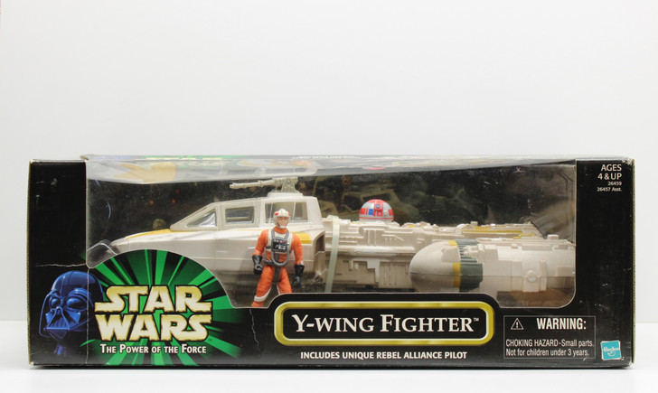 Hasbro Star Wars Y-Wing Fighter with exclusive Rebel Pilot action figure