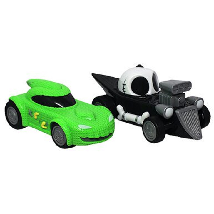 Disney NBX Jack Skellington & Oogie Boogie Friction Cars