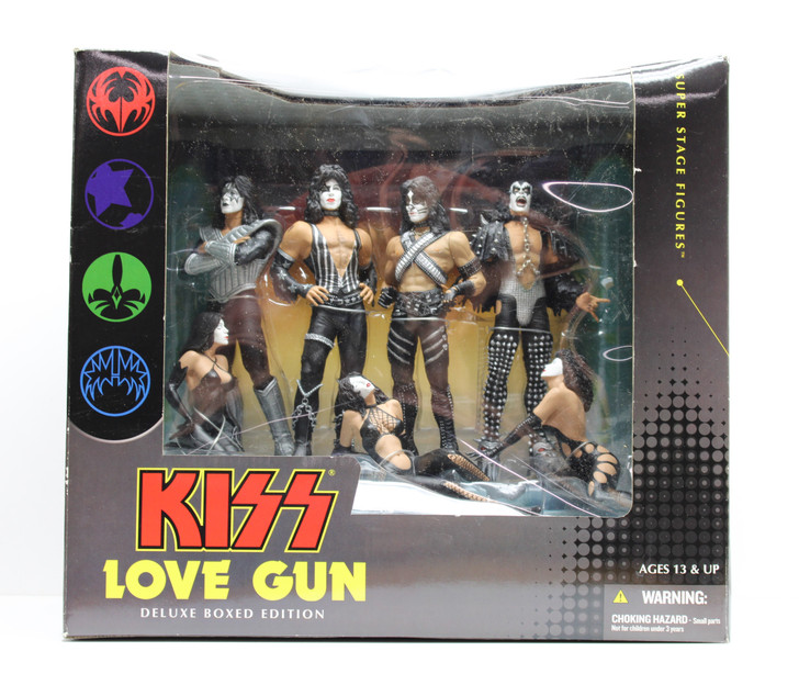 """McFarlane (2004) KISS """"Love Gun"""" Super Stage Deluxe Boxed Edition"""