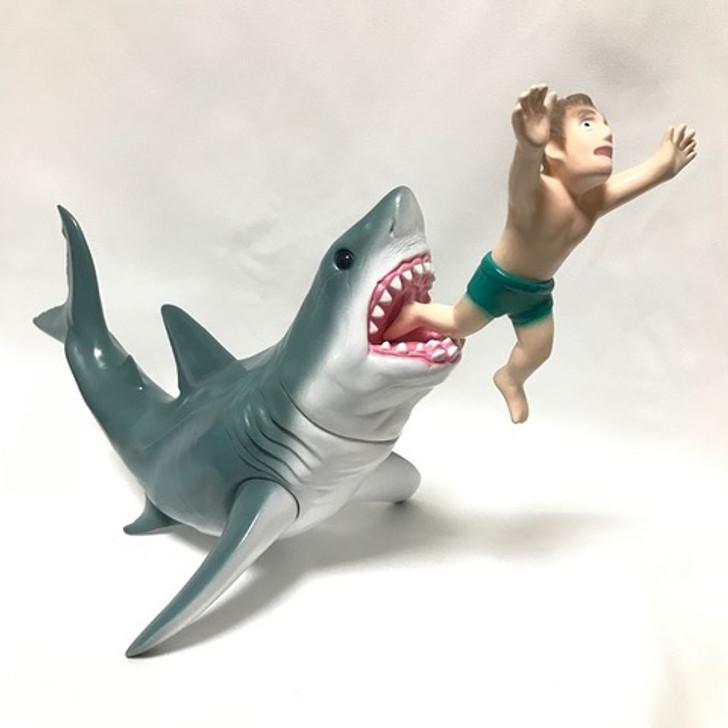 Dream Rocket Bruce the Shark with Victim Designer Art Vinyl Toy
