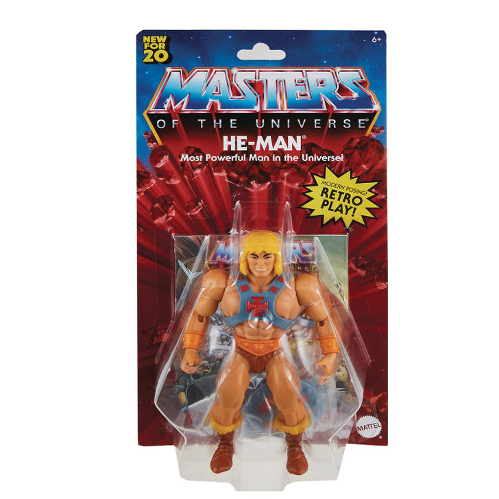 Mattel MOTU Origins He-Man Action Figure