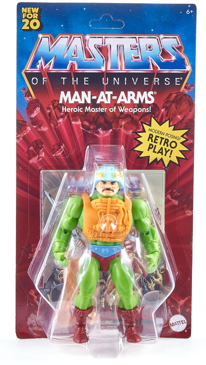 Mattel MOTU Origins Man-At-Arms Action Figure