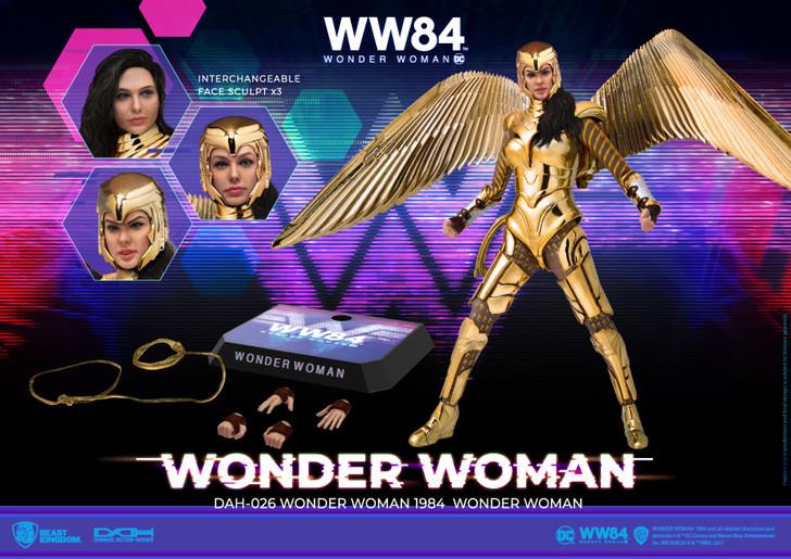 Wonder Woman 1984 DAH-026 Dynamic 8-ction Golden Armor Action Figure