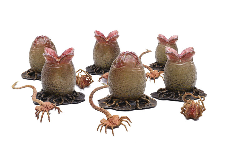 HIYA Alien eggs and Facehuggers 1/18 scale action figure