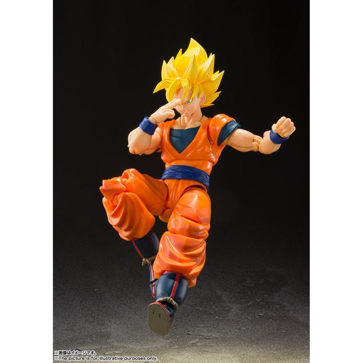 BanDai S.H. Figuarts Dragon Ball Z Super Saiyan Full Power Son Goku