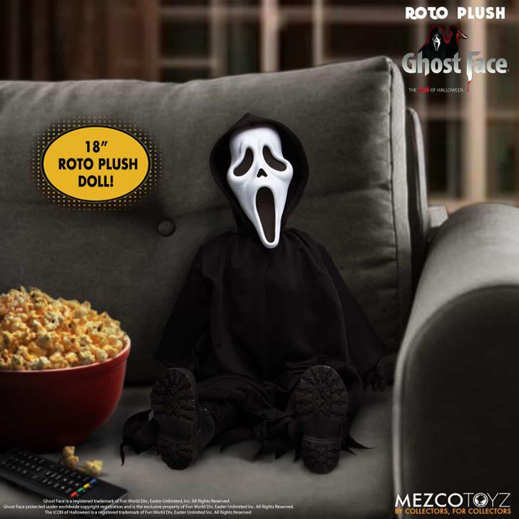 "Mezco Scream Ghost Face Plush 18"" Doll"