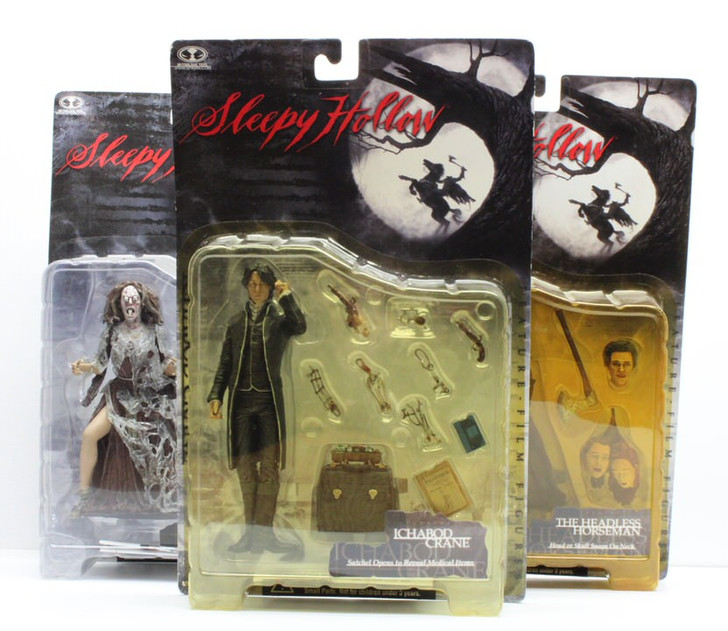 McFarlane (1999) Sleepy Hollow Action Figure Set