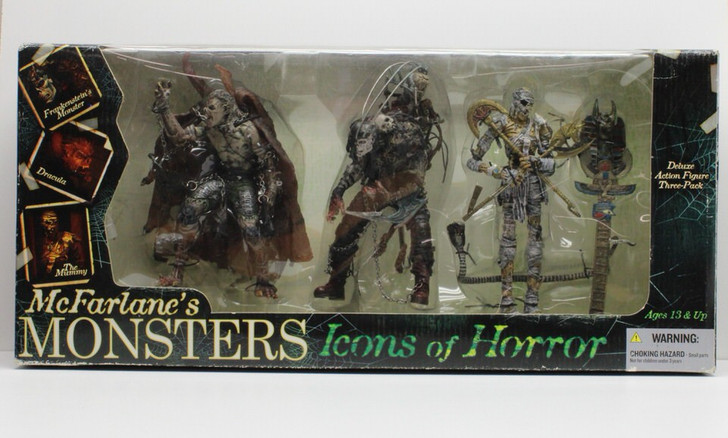 Mcfarlane (2006) Monsters Icons of Horror Action Figure Box Set