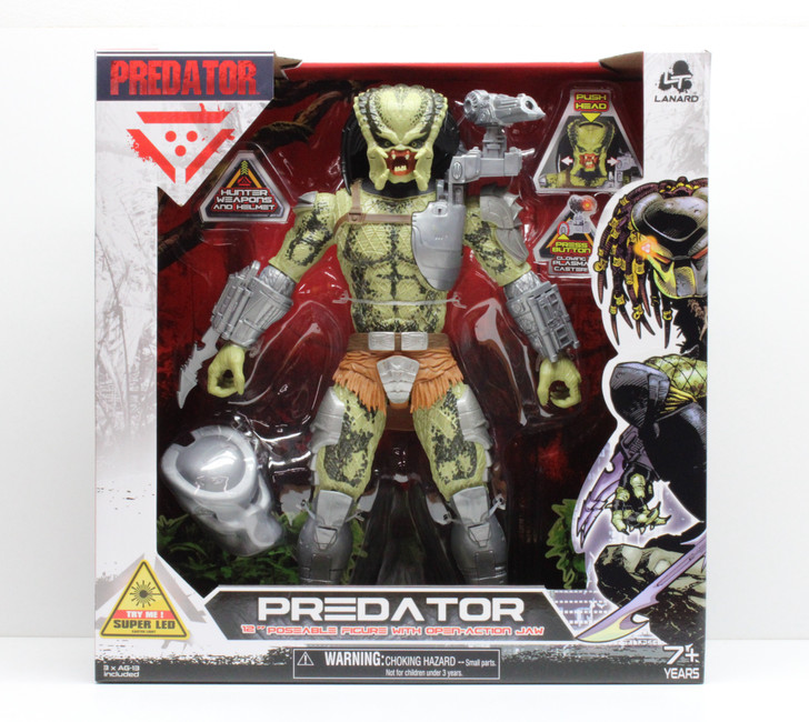 Lanard Giant Predator 12in Action Figure