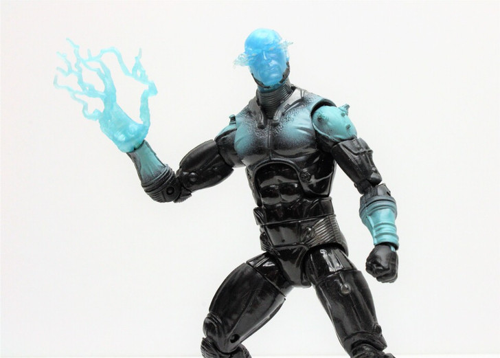 Hasbro (2012) Marvel Legends Amazing Spider-Man Movie ELECTRO Action Figure (No package)