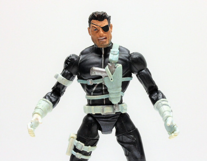 ToyBiz (2003) Marvel Legends Nick Fury Figure (No package)