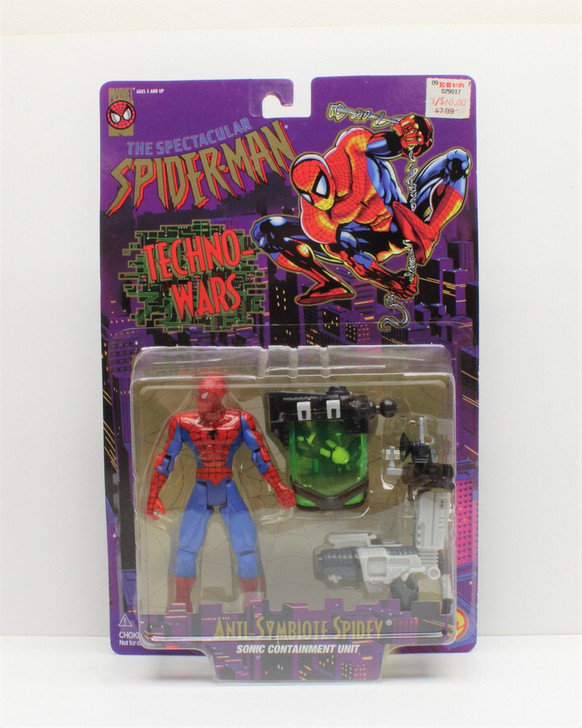 ToyBiz (1996) Spider-Man Anti Symbiote Spidey Action Figure