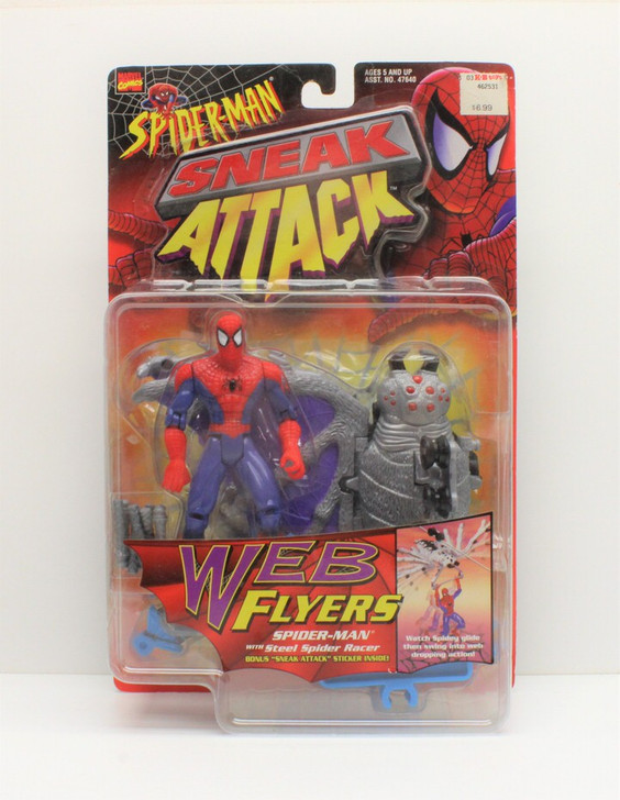 ToyBiz (1997) Spider-Man Sneak Attack Web Flyer Action Figure