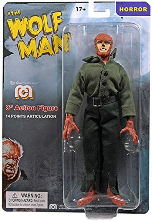 """Mego Action Figure 8"""" Universal Monsters The Wolfman"""